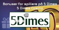 Bonuser for spillere på 5 Dimes Casino
