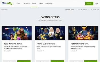 Screenshot 3 Betrally Casino